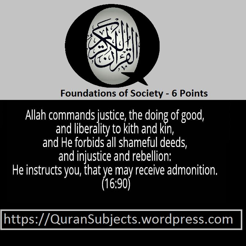 Society -Quran Subjects